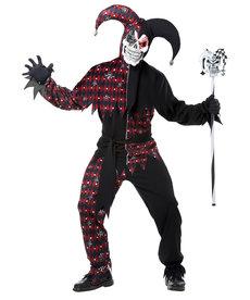 California Costumes Men's Sinister Jester Costume