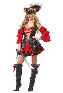 California Costumes Women's Spanish Pirate Costume