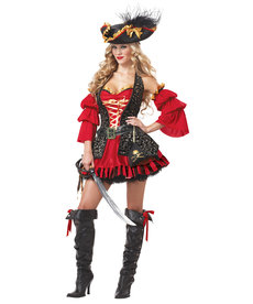 California Costumes Women's Spanish Pirate Costume