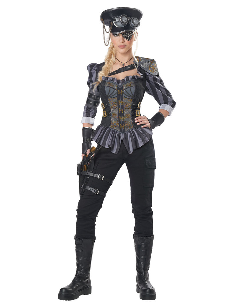 California Costumes Women's Steampunk Captain Costume
