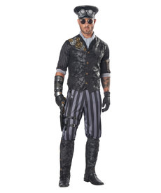 California Costumes Adult Steampunk Commander Costume