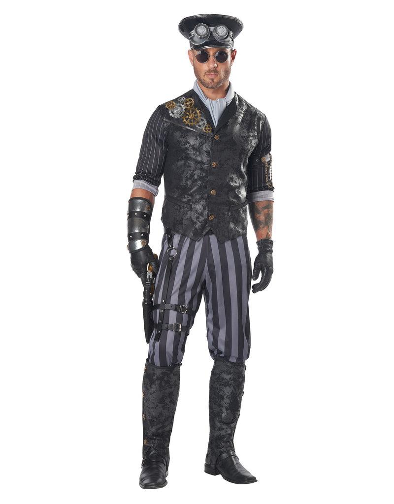 California Costumes Men's Adult Steampunk Commander Costume