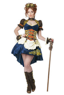 California Costumes Women's Steampunk Fantasy Costume