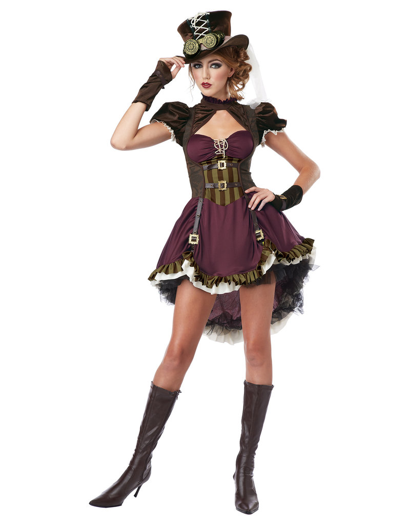 California Costumes Women's Steampunk Girl Costume