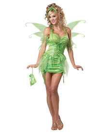 California Costumes Women's Green Fairy Costume