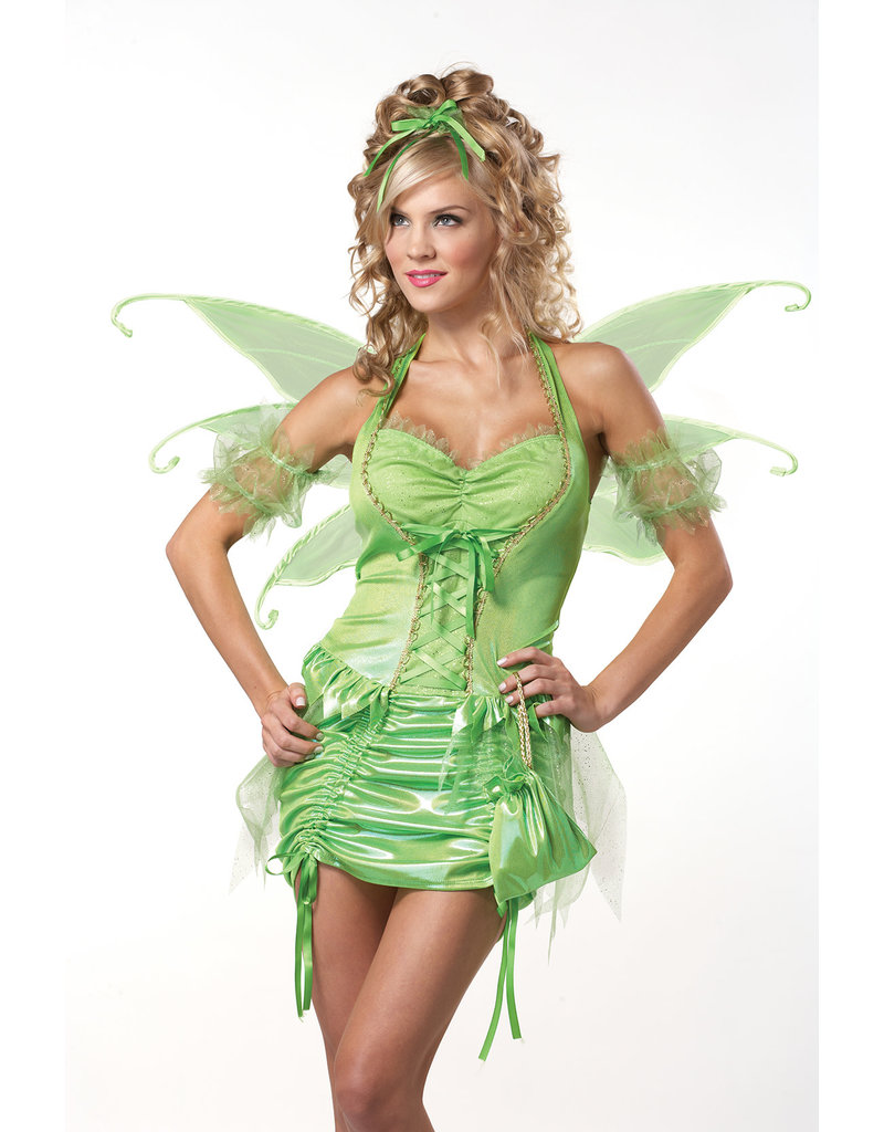 California Costumes Women's Green Fairy Costume