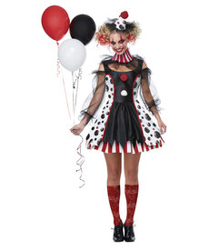 California Costumes Adult Twisted Clown Costume