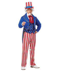 California Costumes Men's Uncle Sam Costume