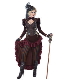 California Costumes Women's Victorian Steampunk Costume