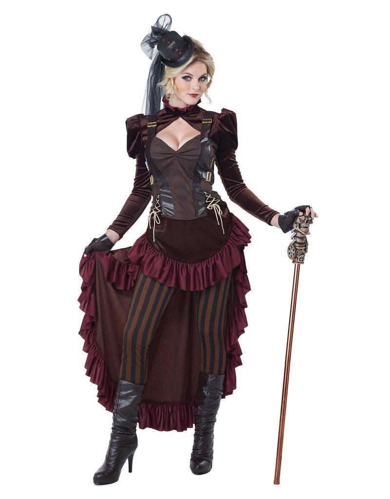 California Costumes Women's Victorian Steampunk Costume
