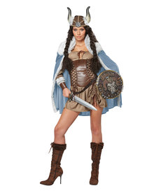 California Costumes Women's Viking Vixen Costume