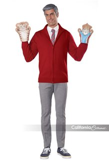 California Costumes Adult Be My Neighbor Kit with Sweater Costume