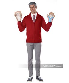 California Costumes Adult Be My Neighbor with Sweater Kit