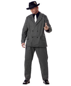 California Costumes Plus Size Gangster Costume