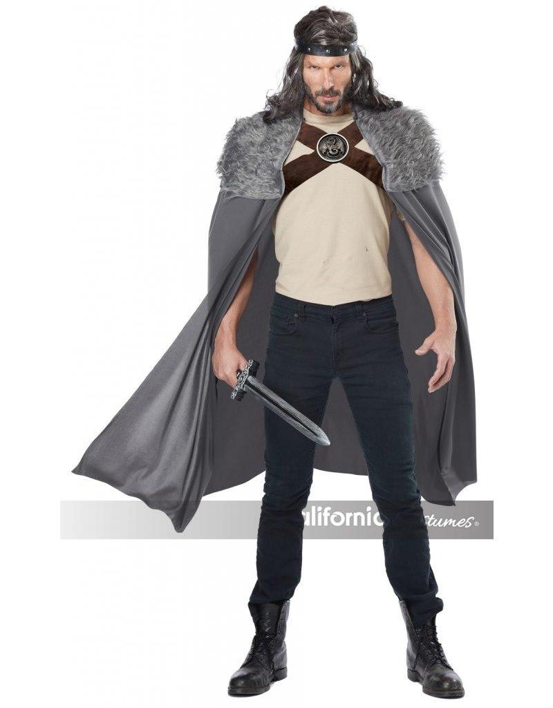 California Costumes Men's Dragon Master Grey Cape