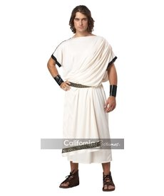 California Costumes Men's Deluxe Classic Toga Costume