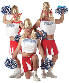 California Costumes Adult Varsity Cheerleader Costume