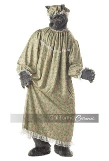 California Costumes Wolf Granny: Adult Size Costume