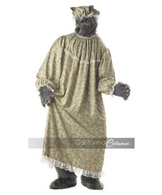 California Costumes Adult Wolf Granny Costume