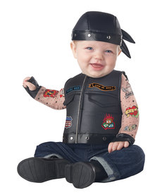 California Costumes Infant Born to Ride Costume