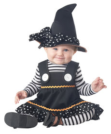 California Costumes Infant Crafty Lil' Witch Costume
