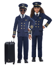 California Costumes Kids Airplane Pilot Costume