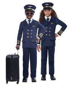 California Costumes Kids Airplane Pilot Costume