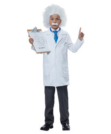 California Costumes Kids Albert Einstein / Physicist Costume