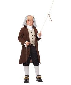 California Costumes Kids Benjamin Franklin / Colonial Man Costume