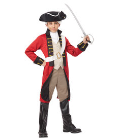 California Costumes Kids British Redcoat Costume