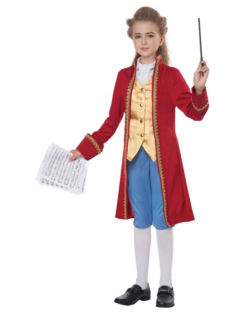 California Costumes Kids Classical Composer / Amadeus Costume
