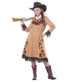 California Costumes Kids Cowgirl / Annie Oakley Costume