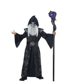 California Costumes Kids Dark Wizard Costume