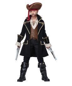 California Costumes Kids Deluxe Pirate Captain Costume