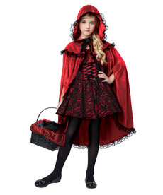 California Costumes Kids Deluxe Red Riding Hood Costume