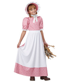California Costumes Kids Early American Girl Costume