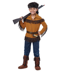 California Costumes Kids Frontier Boy / Davy Crockett Costume
