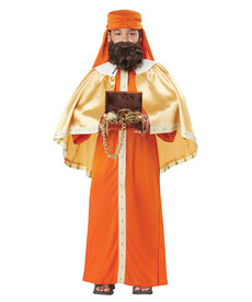 California Costumes Kids Gaspar, Wise Man / Three Kings Costume