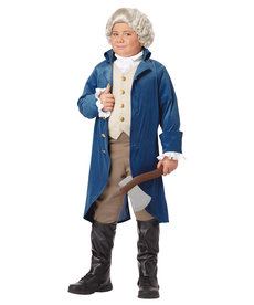California Costumes Kids George Washington Costume