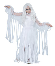 California Costumes Kids Ghostly Girl Costume