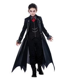 California Costumes Kids Gothic Vampire Costume