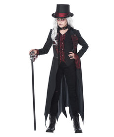 California Costumes Kids Gothic Vampiress Costume