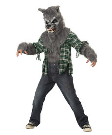 California Costumes Kids Howling At The Moon Costume