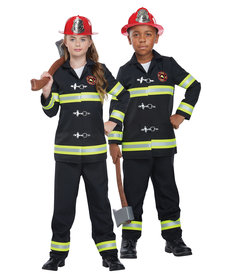 California Costumes Kids Junior Fire Chief Costume
