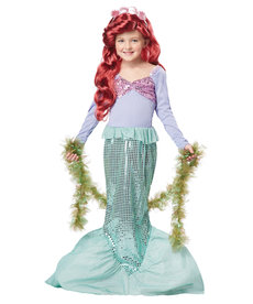 California Costumes Kids Little Mermaid Costume