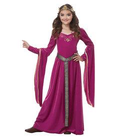 California Costumes Kids Medieval Princess Purple Costume