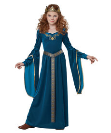 California Costumes Kids Medieval Princess Royal Blue Costume