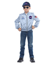California Costumes Kids NASA Flight Jacket