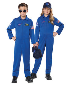 California Costumes Kids NASA Jumpsuit Costume