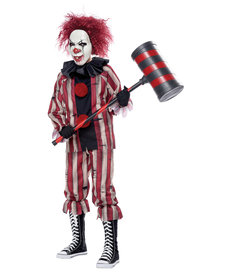 California Costumes Kids Nightmare Clown Costume